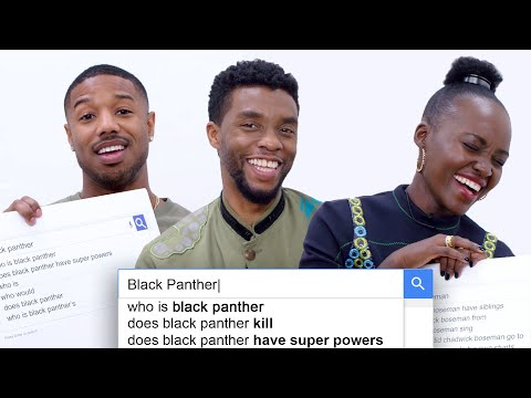 Black Panther Cast Answer the Web's Most Searched Questions | WIRED