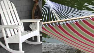 Outdoor Rocking Chairs, Gliders, Porch Swings, Hammocks & More with Comfort Rocking.