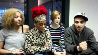 Waterloo Road Reunited   Tachia Newall, Chelsee Healey, Lucy Dixon, Lauren Thomas