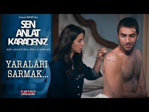 Tahir'in yaralarını saran Nefes - Sen Anlat Karadeniz 49. Bölüm