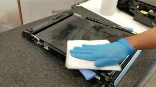 How to Clean and Troubleshooting HP Color LaserJet Transfer Belts ITB ETB Assemblies