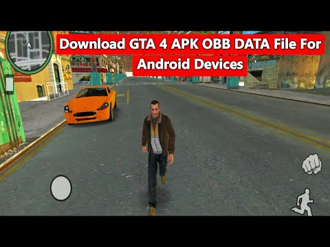 Download GTA 4 APK OBB DATA File For Android Devices