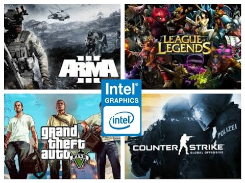 Intel HD 530 Performance Test in 9 Games!