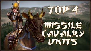 TOP 4 MISSILE CAVALRY UNITS - Total War: Shogun 2!