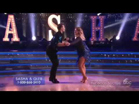 HD Sasha Pieterse and Gleb Savchenko ChaChaCha  Dancing With the Stars Premiere