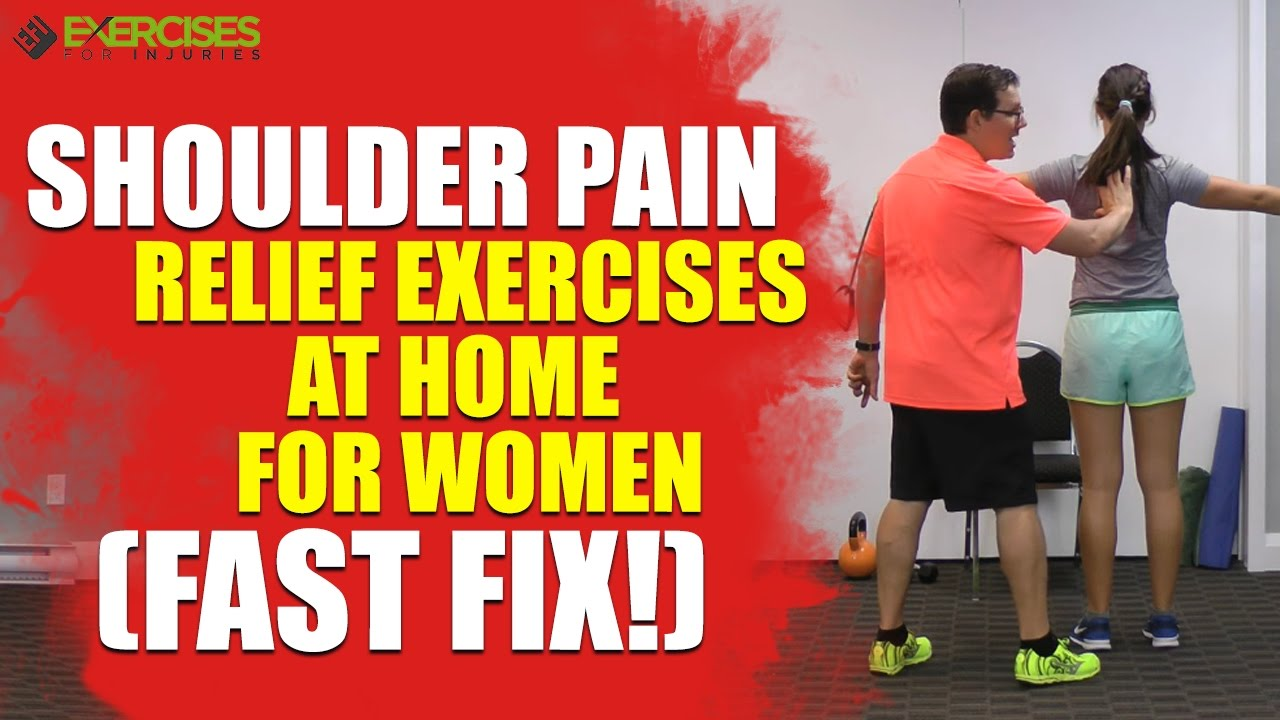 how to fix shoulder pain fast