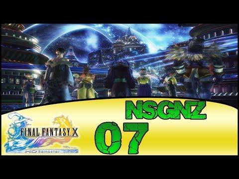 Final Fantasy X HD Remaster - Reto NSGNZ | Capitulo 7 # Rio de la Luna y Guadosalam