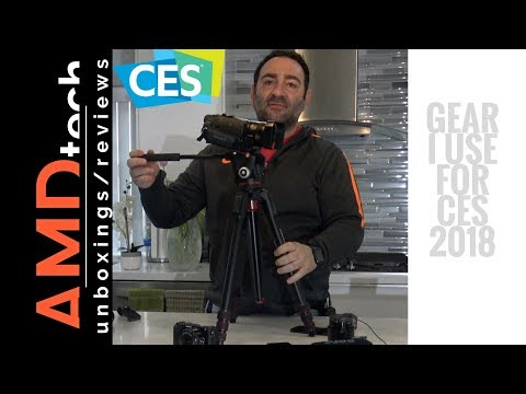 CES 2018:  What's In My Gear Bag