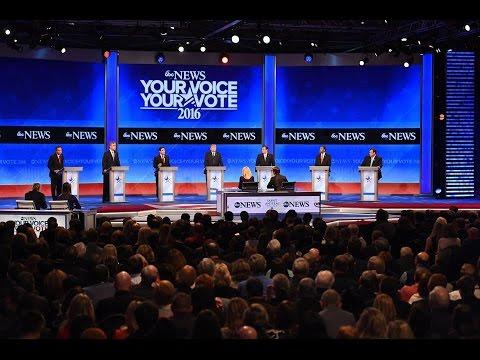 New Hampshire Republican Primary Debate at Saint Anselm College (2016)