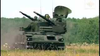 2K22 Tunguska  surface-to-air gun and missile system