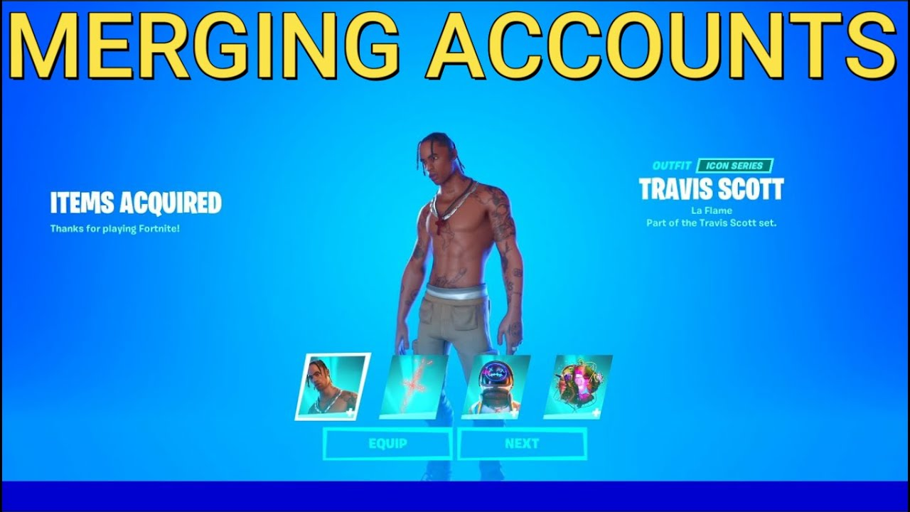 How to Merge Fortnite Accounts for Free in Chapter 2 ...