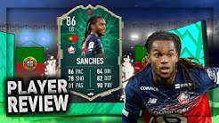 CHEAP BEAST! 86 SHAPESHIFTER RENATO SANCHES REVIEW!! FIFA 20