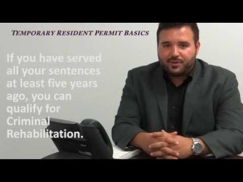 Canadian Temporary Resident Permit Basics