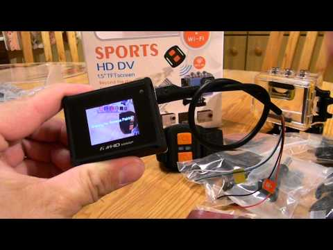 HD Sports Wifi DV 60 Euro Actioncam Test live stream Fpv auf Smartphones und Tablets