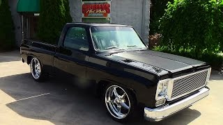77 Chevy C-10 Street Truck Griffey's Hot Rods and Restorations