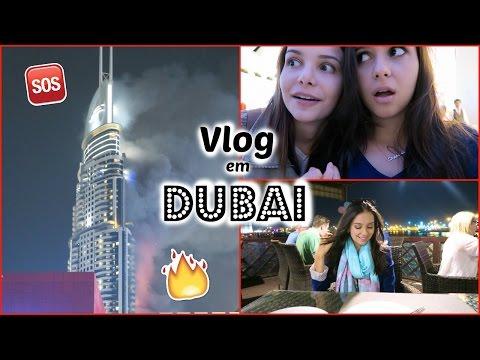 Vlog 3: Fogo no hotel de Dubai, Ano Novo, Mercado do Ouro, +