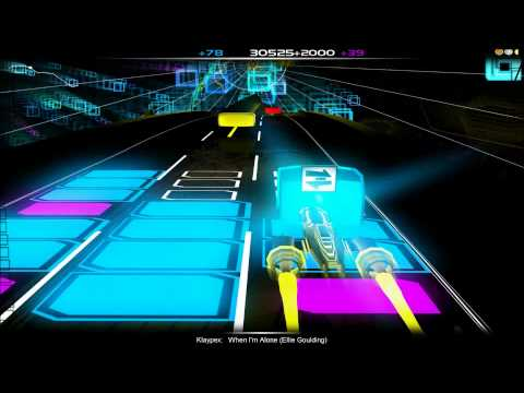 Audiosurf Klaypex - When I'm Alone (Ellie Goulding)