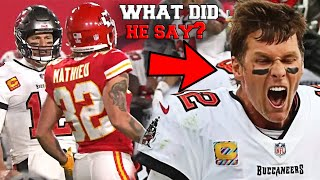 The Time Tom Brady Was Trash Talked by Tyrann Mathieu and it went VERY WRONG (FT. Super Bowl)
