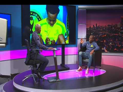 Thomas Mlambo interviews football star Hlompho Kekana