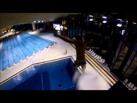 Plongeoir piscine de la coque luxembourg youtube for Plongeoir piscine