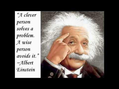 My Favorite Albert Einstein Quotes With Mozart (Eine Kleine Nachtmusik)