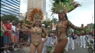 Samba Show Gets Performers, Spectators In Mood Ahead Of Rio Carnival