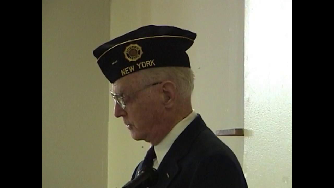 Legion Post 20 Veterans Day  11-11-07