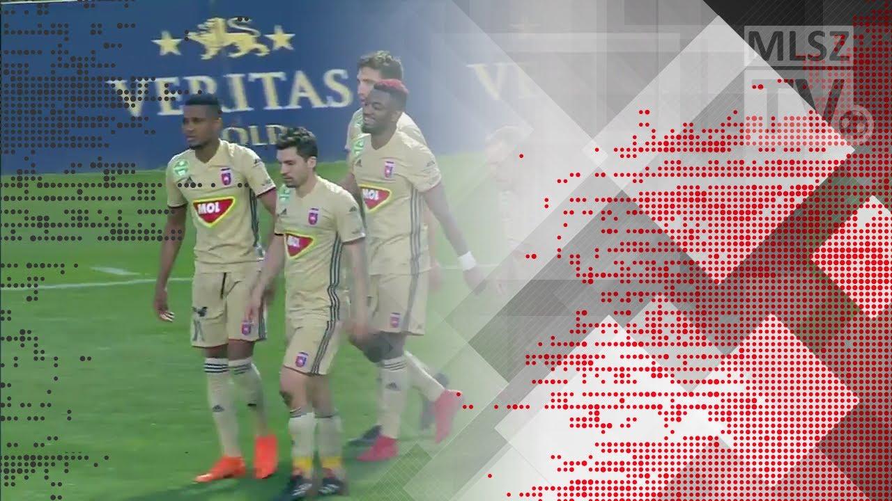 Souza Dos Santos gólja a Budapest Honvéd - Videoton FC mérkőzésen