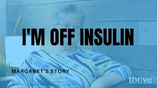 "Chiropractor Charlotte NC | ""I'M OFF INSULIN AFTER 18 YEARS!"" at Thrive Family Health Center"