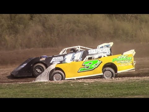 Topless RUSH Crate Late Model Heat Two | Genesee Speedway | 9-17-17