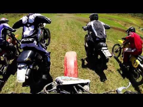 Old Thumpers Vintage Motorcross 2017,  Large Bore race 2 , Honda xr250