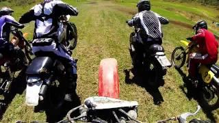 Old Thumpers Vintage Motorcross 2017,  Large Bore race 2 , Honda xr250