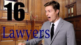 16 Personalities as Lawyers