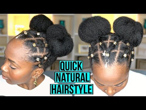 EASY Protective Hairstyle For FAST Hair Growth And Length Retention   NATURAL HAIR