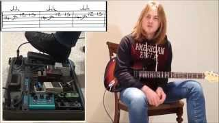 Lesson on using a Wah Pedal - With Sam Coulson