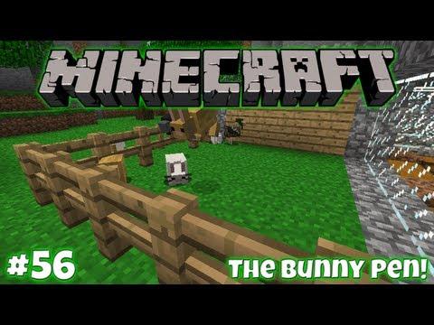 The Bunny Pen! || Survival In Minecraft (1.2.5) #56