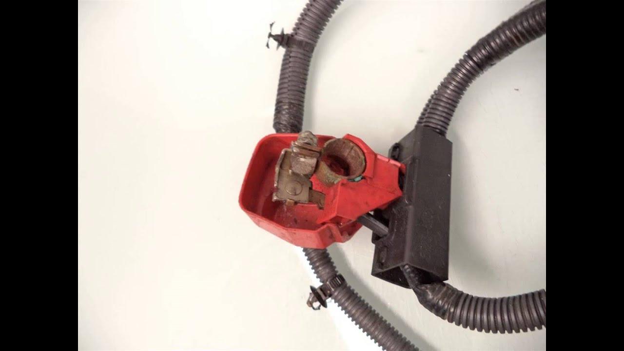 2011 Honda Pilot Battery Starter Cable Assy 32410 Sza A00