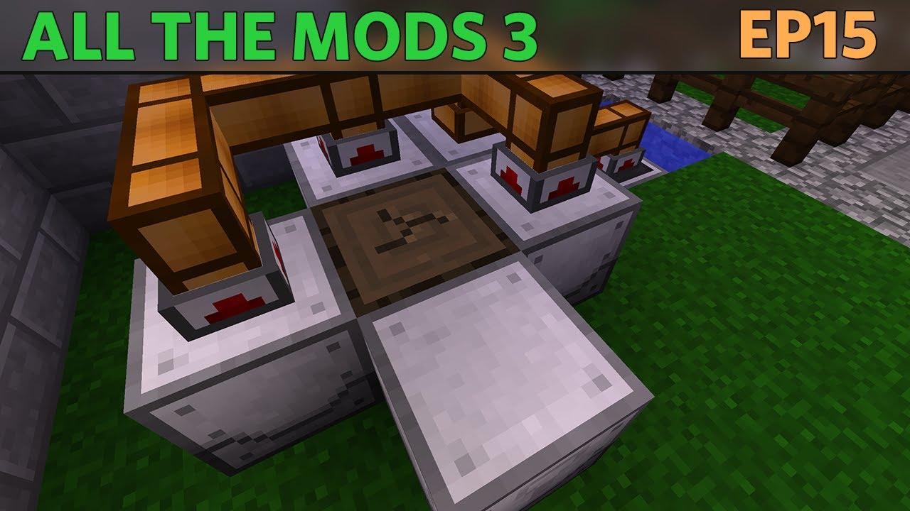 All the Mods 3 - E15 - Industrial Foregoing [1 12 Modded Minecraft]