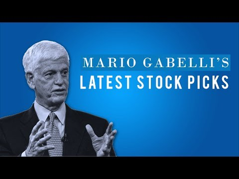 Legendary investor Mario Gabelli shares his latest picks