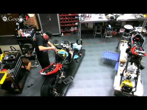Riders Discount 2014 Triumph 675R Build Day 5