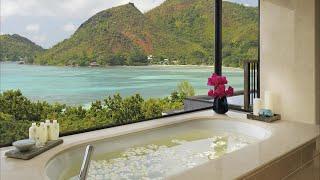 Raffles Seychelles - full tour of a five star beach resort
