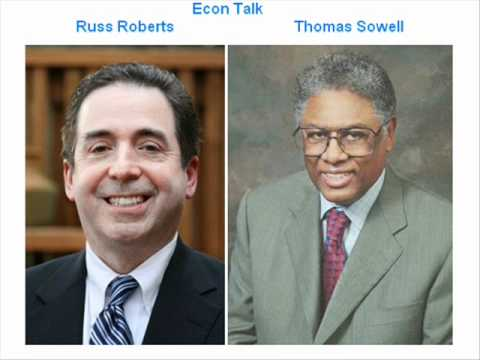 Econ Talk with Thomas Sowell (Uncut)