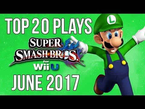 Top 20 Smash 4 Plays of June 2017 - Super Smash Bros Wii U (SSB4)