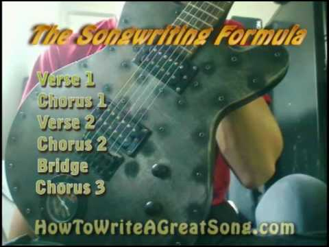 How To Write A Great Song: The Songwriting Formula