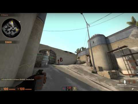 Dust 2 B Retake in One Take [CSGO]