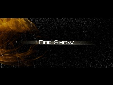 Professional fire show from Ukraine - Theater FLASH 2015