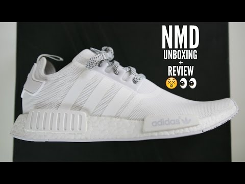 Adidas NMD White Unboxing Review + How