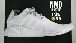 adidas nmd white unboxing review how to style mens fashion 2016