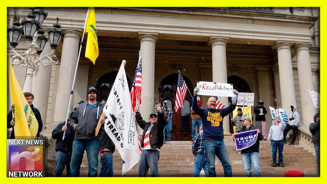 Patriots UNITE in Michigan! Look How They Stormed the Capitol Building DEMANDING Answers!