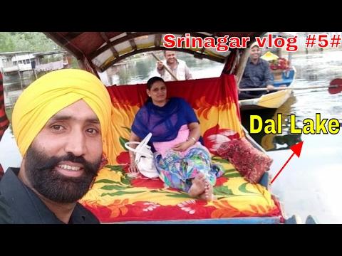 Srinagar vlog 5  Dal Lake, Houseboat Golden Lake (Jammu & Kashmir ) Kashmir tour